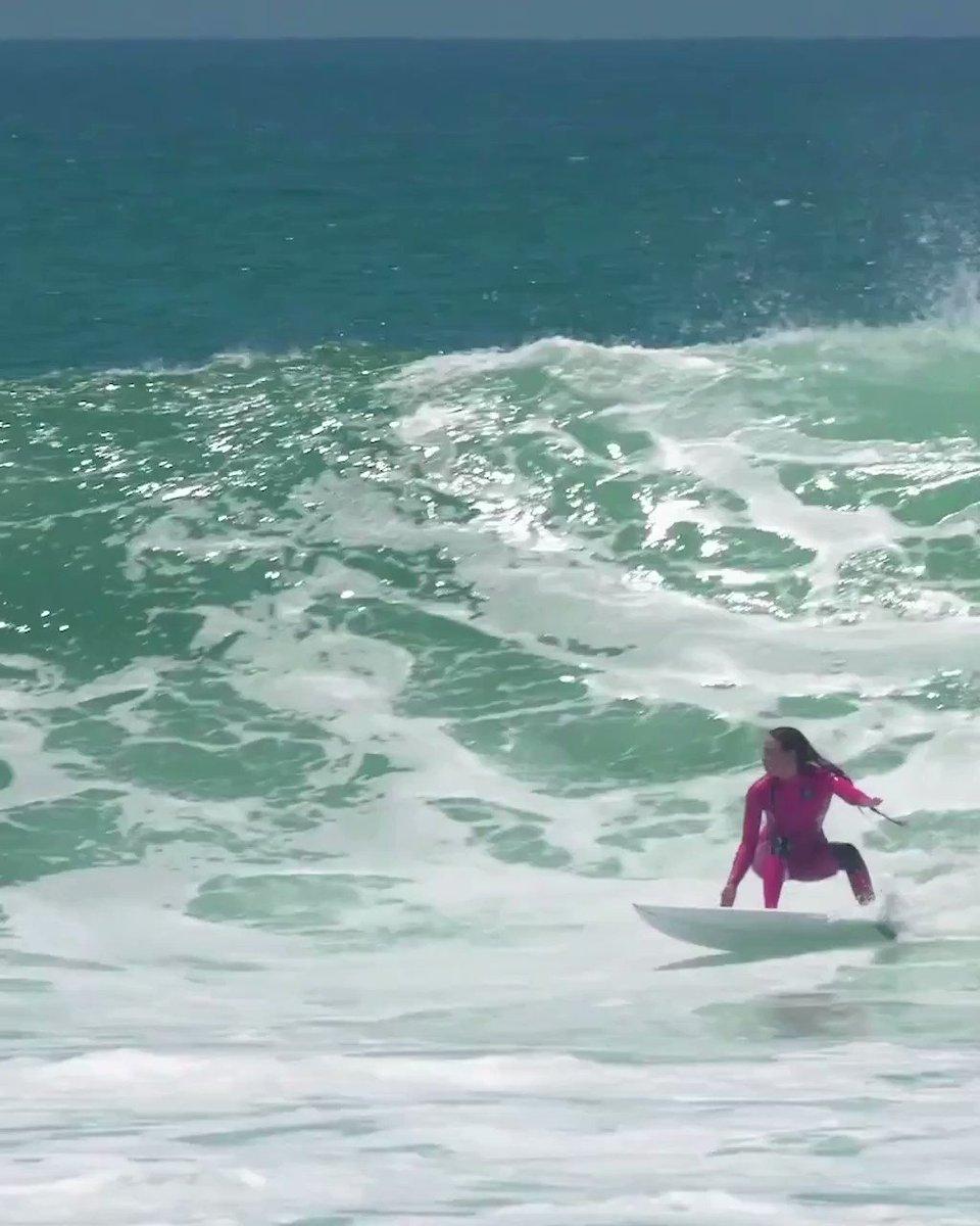 .@tia_blanco taking advantage of the recent California swell. ⚡️  Video: Noah McPherson