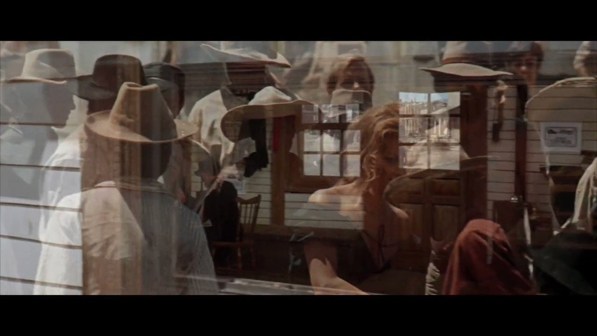 Note this marriage between Morricone's music and Sergio Leone's camera work to juxtapose Jill's beauty (Claudia Cardinale) with the breathtaking landscapes of the cinematic Old West. A perfect movie moment. #RIPEnnioMorricone