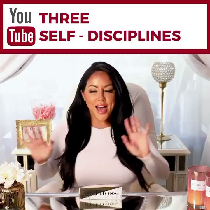 What area of your life do you need to exercise Self-Discipline? 🧐 So many areas of our life are lacking self discipline!🤯😱🤯Find out the top 3 disciplines 📊 needed to live your life like the most wealthiest, successful people in the world! 🏆