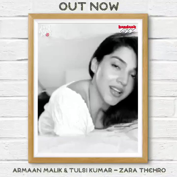 The wait has ended. ⁣ ⁣ ZARA THEHRO by @ArmaanMalik22, @AmaalMallik and @TulsikumarTK starring  @Mehreenpirzada with Armaan, is out now:  ⁣ #outnow #JustPushPlay #ZaraThehro #Armaanians #Amaalians #Armaalians #tulsians #tk #bandookBuzz #bandook