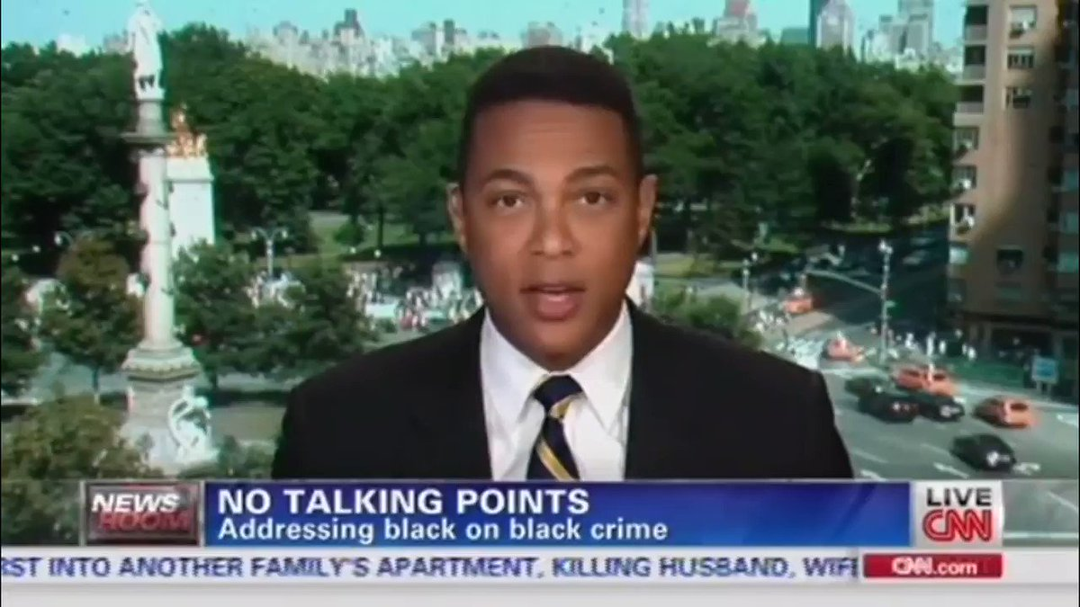 🚨📽️Just Watch📽️🚨  This is a real video from 2013.  It is only edited for time (to fit Twitter's 2:20 limit), but the context is unchanged.  The full video is in the link below.  I must admit: Don Lemon genuinely seemed to care about black lives in 2013