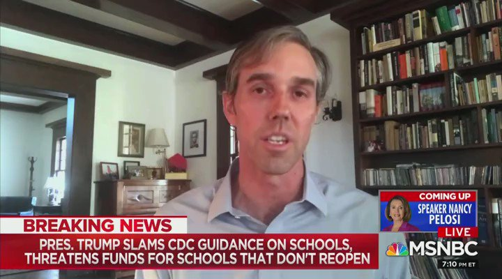 """Former presidential candidate @BetoORourke says that the rise in gun violence in America's cities is the fault of the """"death cult mentality"""" of Republicans"""