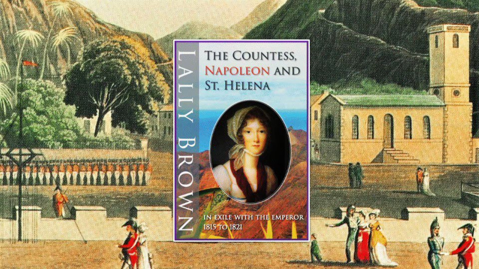 THE COUNTESS, NAPOLEON AND ST HELENA Read about the intrigues, the escape plans, the loves and the death of #Napoleon on #StHelena seen through the eyes of a woman who accompanied him into exile. #truestory #extraordinary #bringshistoryalive