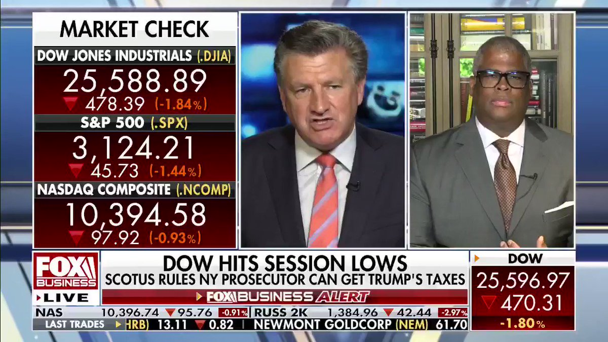 What's driving today's market lows? @cvpayne says it's investor fears that Joe #Biden would increase taxes if elected. #Democrats #Markets #Economy #VarneyCo