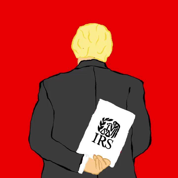 He's hiding something. #TrumpTaxes #TrumpTaxReturns