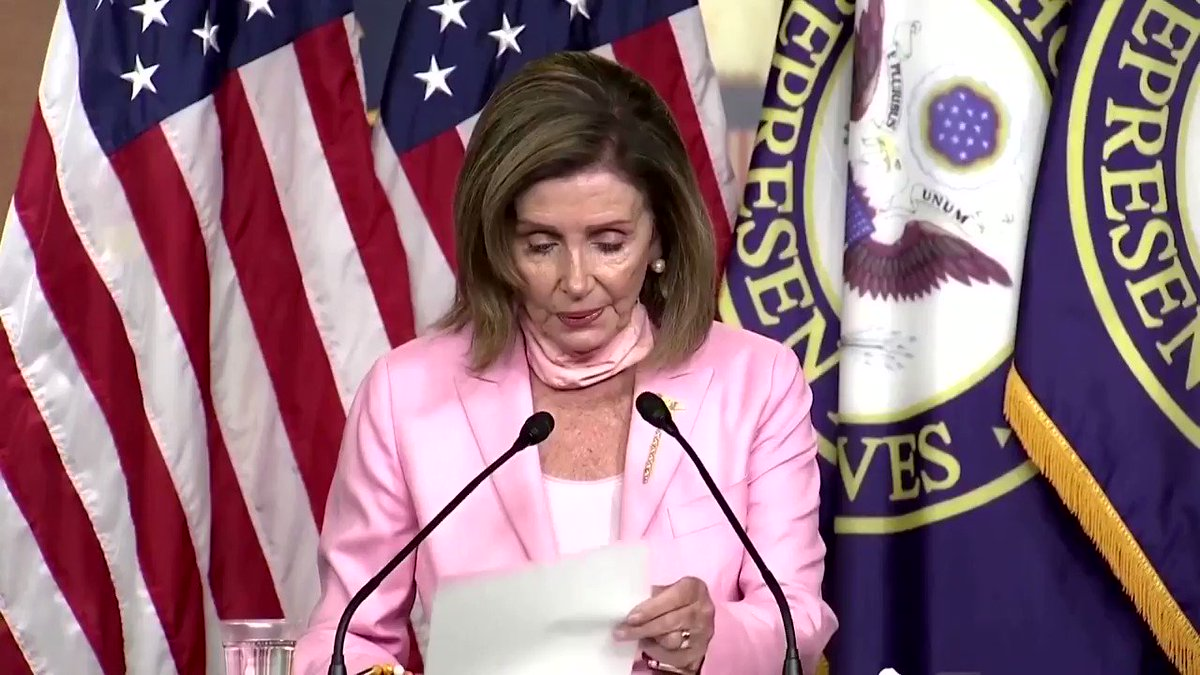 "Pelosi on Supreme Court decision: ""Whatever it is, it's not good news.""   She goes on to say that this is a ""path we will take"" while it seems she has no idea where she's going."