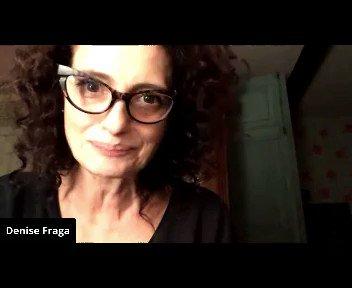 """Uma maravilhosa """"Oração da Fúria"""", falada por Denise Fraga, baseada em Brecht. Quer ouvir tudo? Tá aqui, ó: Tá aqui:  no @sescsp"""