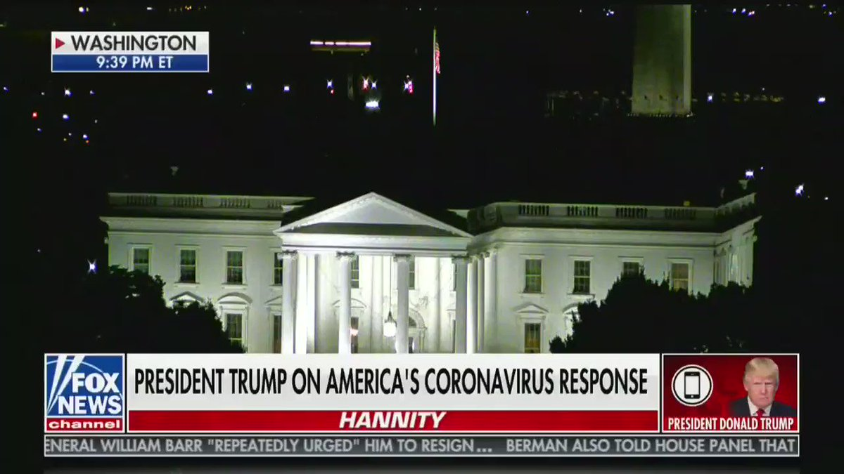 """Trump complains to Hannity that the media reports on spiking coronavirus cases: """"In most cases, they automatically cure. They automatically get better."""""""