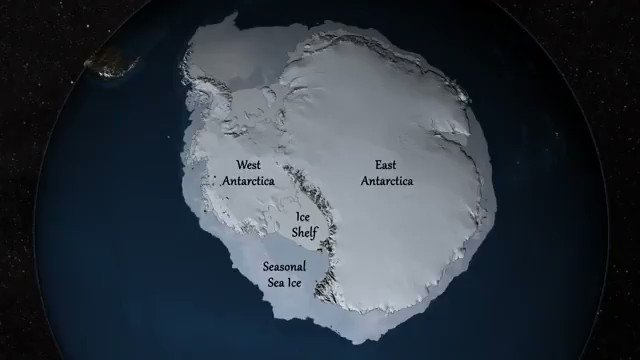 What is beneath the world's largest ice sheet? Compiled by the British Antarctic Survey and made from Operation IceBridge data, this animated map of the changing Antarctic Ice Sheet reveals the bedrock terrain below with a level of detail never seen before