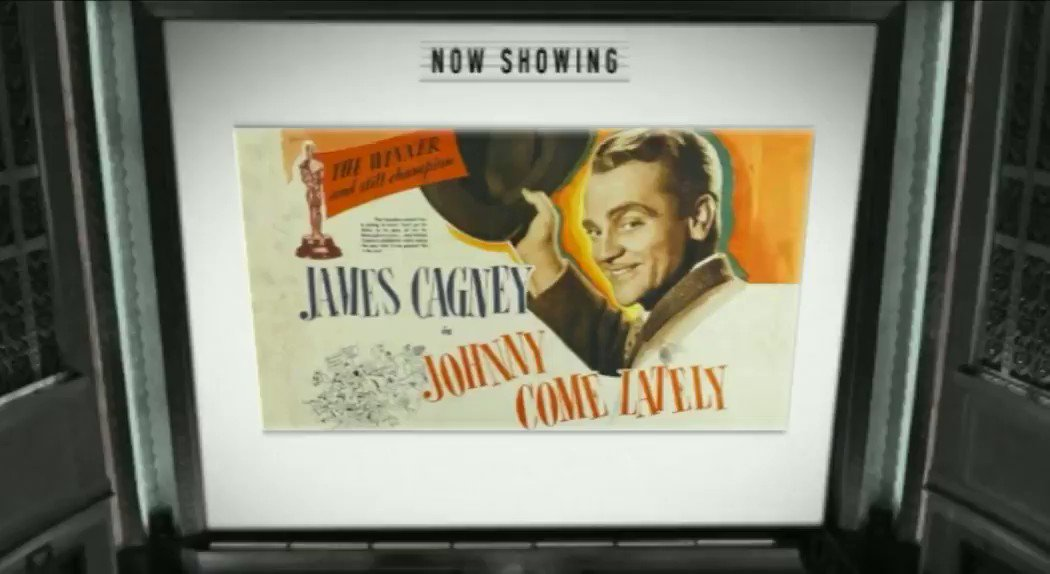 #JamesCagney in JOHNNY COME LATELY (1943) Coming Mon-13-July 6pm #TPTV