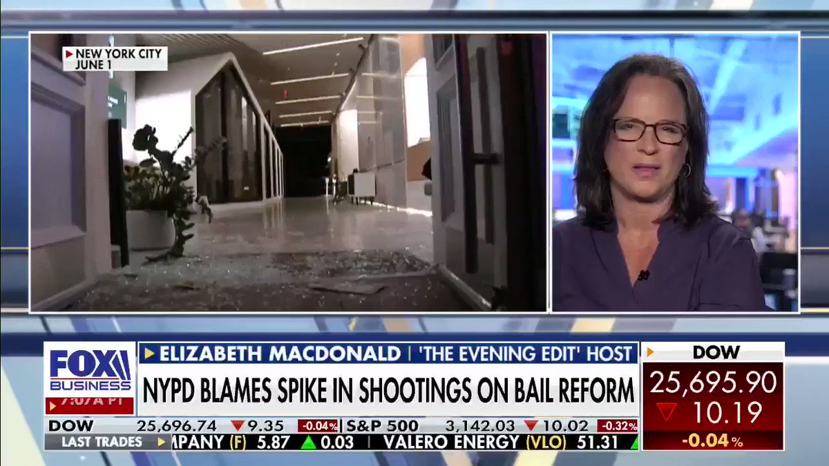 New York Mayor Bill de Blasio was spotted helping paint a #BlackLivesMatter mural outside #TrumpTower. @LizMacDonaldFOX says he needs to be mayor of all #NYC residents - not just the protesters. #BLM #VarneyCo