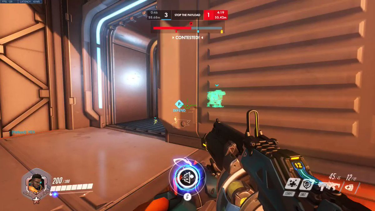 That moment you realize you're fucked... #overwatch #youtube #twitch #funny #oops #fail #blizzard #highlight #bastionlivesmatter