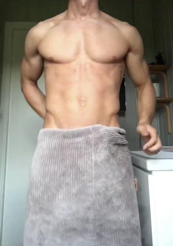 Wwoops I dropped the towel