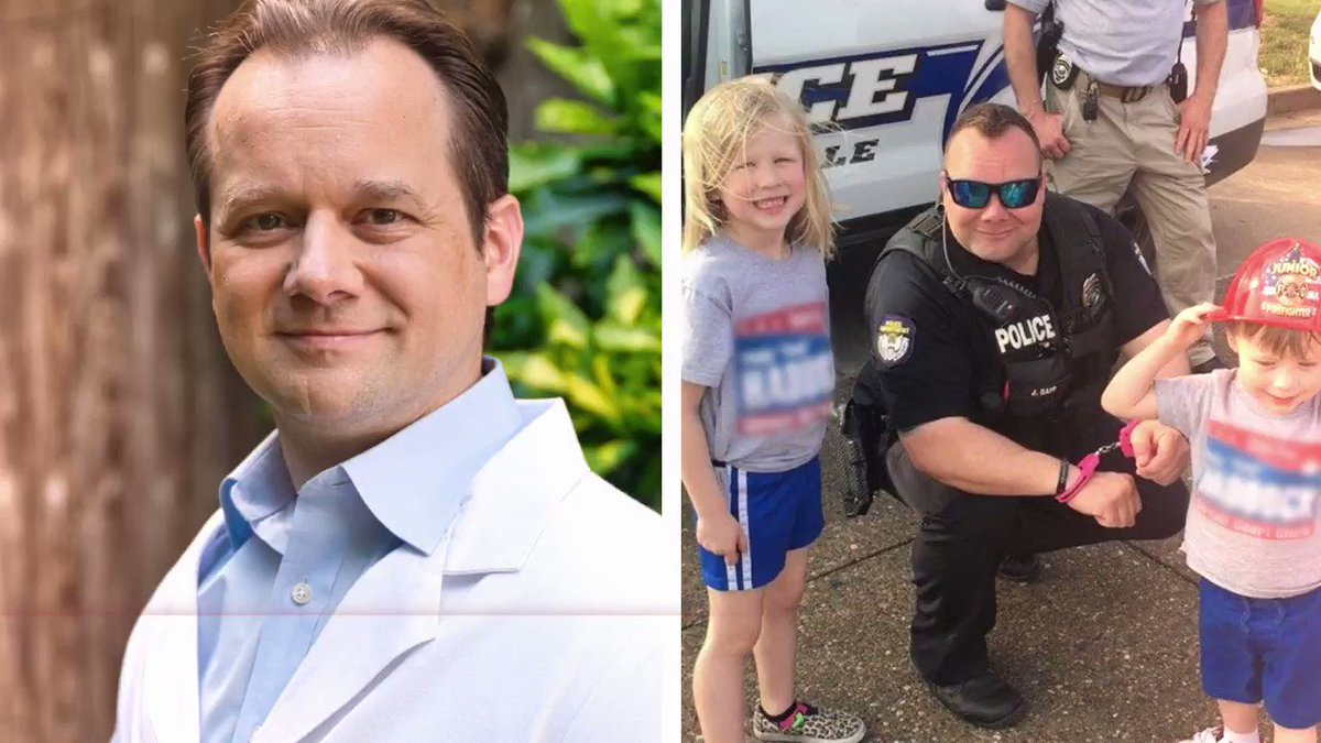 """My brother Jamie is a police officer. On ride-alongs with him, I have watched him put his life on the line.  So when radical Democrats and politically correct Republicans say """"de-fund the police,"""" I say never.  #PoliticalCorrectnessIsCancer"""