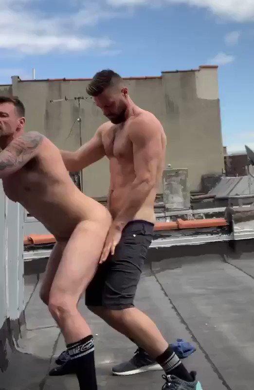 #Rooftop #fuck during #quarantine!    #PublicSex #RiskySex
