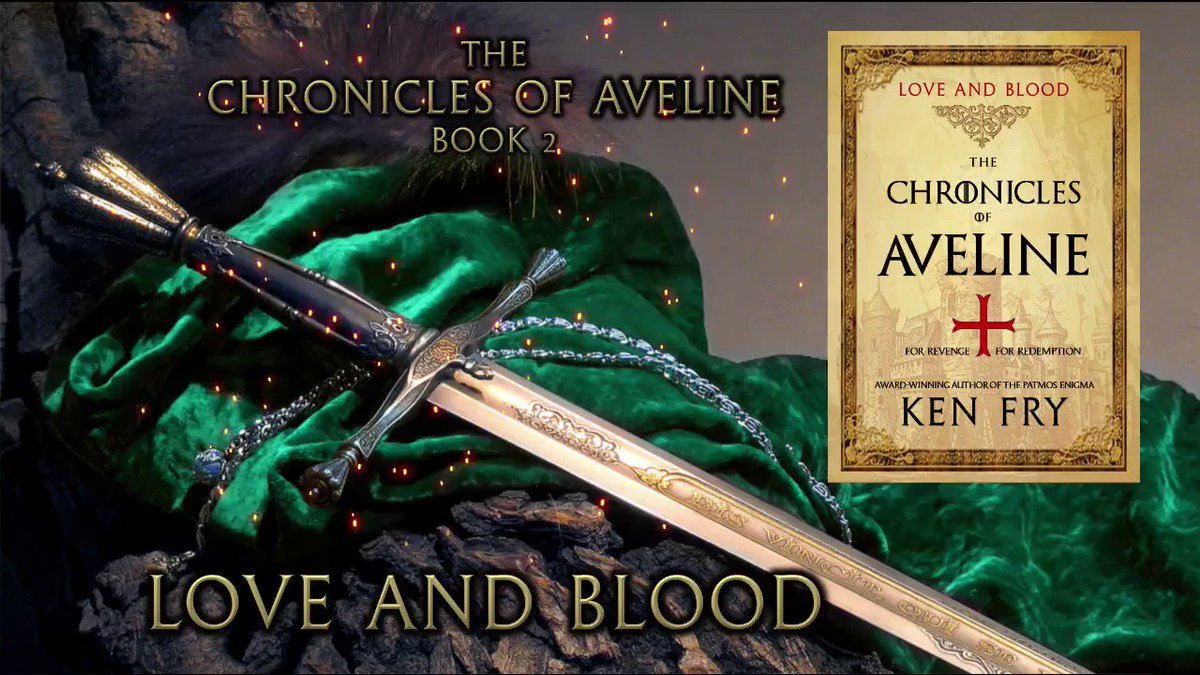 For REVENGE... For REDEMPTION  LOVE AND BLOOD is the much awaited sequel to The Chronicles of Aveline: Awakening, a #historical #thriller / #romance for readers who enjoy #medieval / crusade stories. #FREE #Kindleunlimited  #amreading #mustread  #tw4rw