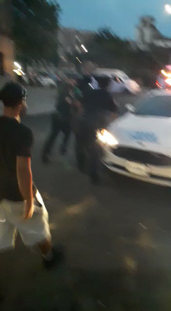 From DeBlasio's secret porn stash. Watching cops be attacked by a mob is his Viagra...