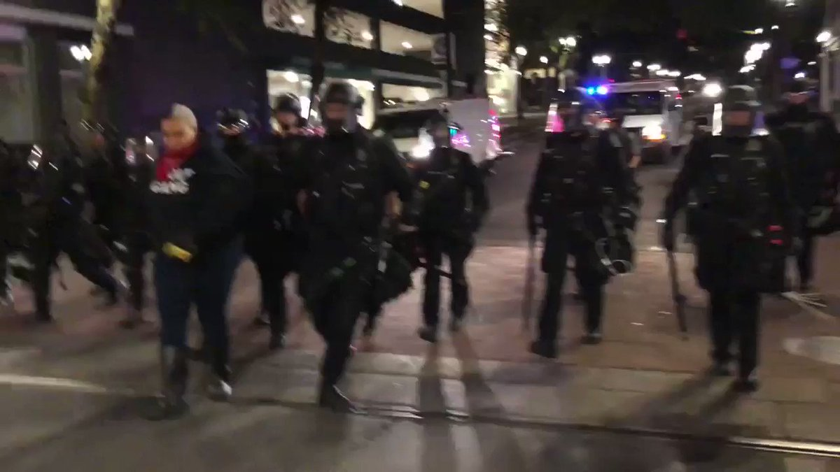 """BLM PROTESTER TO PORTLAND COP: """"I hope someone kills your whole f*cken family"""""""