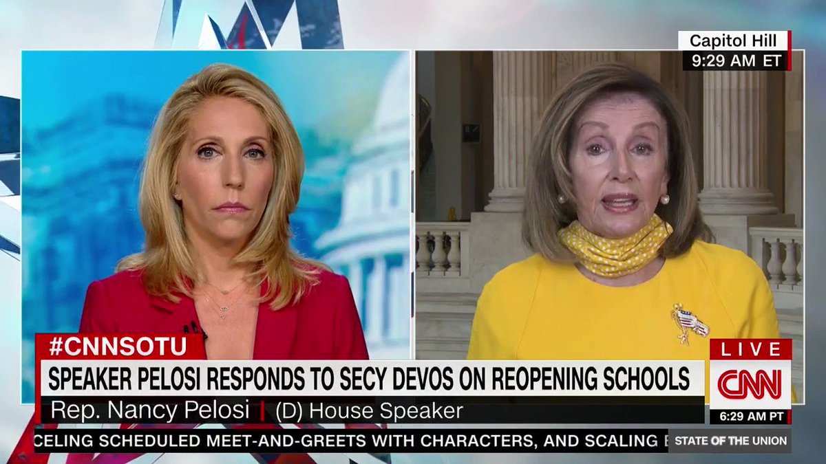 And @SpeakerPelosi is so right, DeVos is guilty of malfeasance