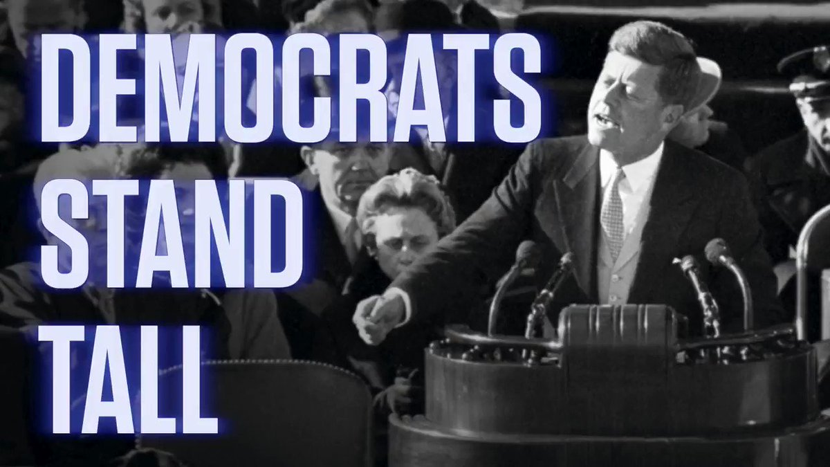 I'm sick of Donald Trump's brand of fake patriotism.   Our new video:  #DemocratsStandTall