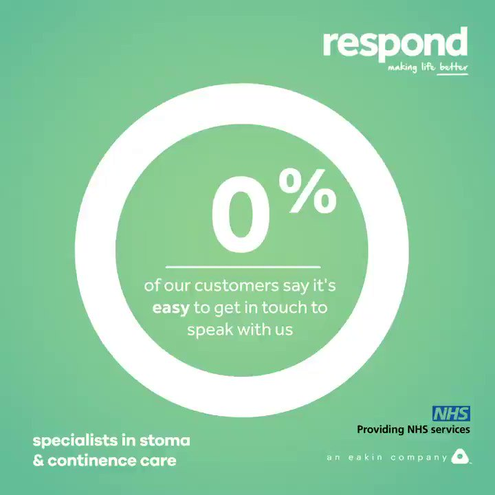At Respond, we pride ourselves on delivering our customers an exceptional, efficient & reliable support service, continuously delivering on our #promises & #MakingLifeBetter for all our customers. But don't just take our word for it -check out our results from our latest survey💚