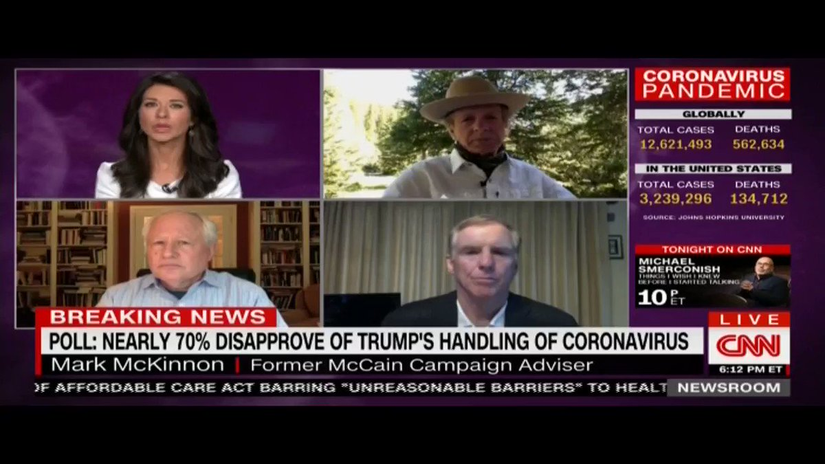 CNN, Saturday evening: The Roger Stone ad from @RVAT2020, followed by a short reflection on the number of veterans and members of military families who've stepped forward to explain why they won't be voting for Trump again.