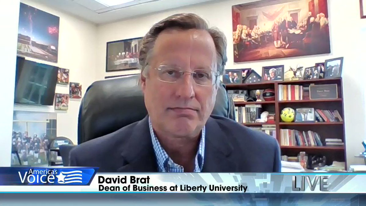 David Brat, Dean of @LibertyU_Busi, says President Obama was asleep at the wheel on foreign policy and President Trump has taken a tough stance against both Russia and China.  Watch on PlutoTV Channel 247, Dish Channel 219, Roku, Apple TV, FireTV or on