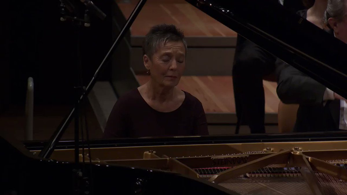#Mozart's Piano Concerto No. 23 with Maria João Pires and Herbert Blomstedt is #free this week »  as part of our #playlist of Mozart's most beautiful piano concertos 🎹 #DigitalConcertHall