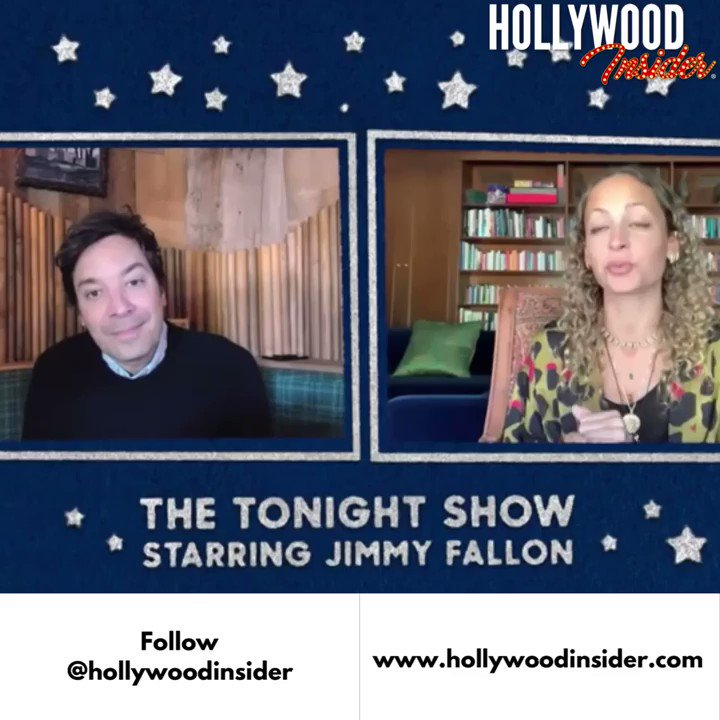 Nicole Richie shares with Jimmy Fallon how she was inspired by Rupi Kaur to record a rap album. | @Hollywdinsdr @nicolerichie | Video: The Tonight Show Starring Jimmy Fallon on YouTube  #hollywoodinsider #hollywood #insider #thetonightshow #jimmyfallon #nicolerichie #rap