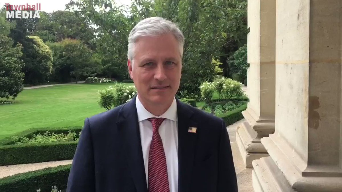 Earlier today, Townhall's @guypbenson got White House United States National Security Advisor Robert O'Brien's reaction to reports of the UK severing ties with China's Huawei.  Read more here -->