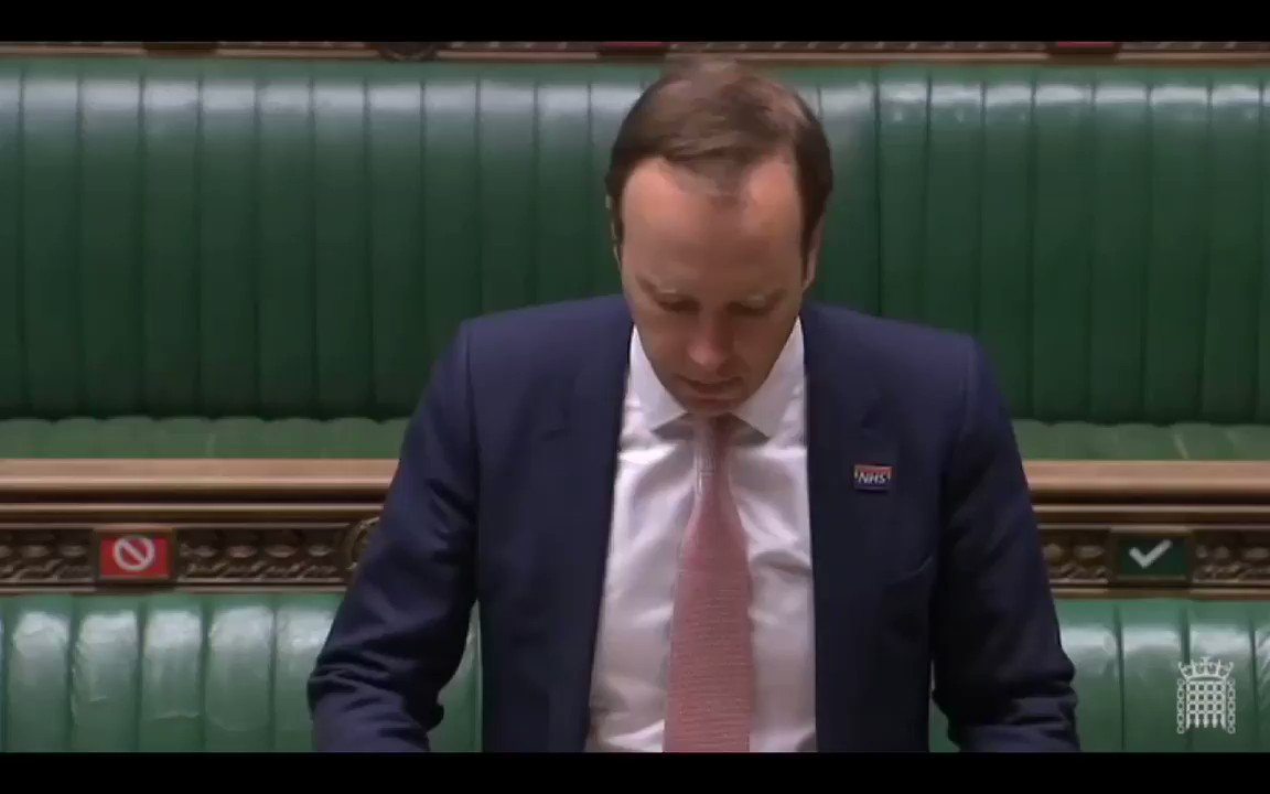 """@NadineDorries June 2nd, Matt Hancock told Parliament that the """"lockdown began on the 23rd of March"""".... NOT the 16th of March."""