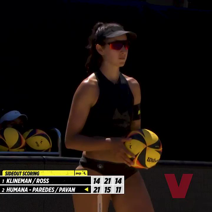 Can you dig it? 🏐   @melissa_hp10 certainly can 😉  We're looking forward to more amazing rallies like this one from Humana-Paredes and @SarahPavan for the 2nd instalment of #ChampionsCup Series...though Humana-Paredes might not be 😅  🎥: @avpbeach