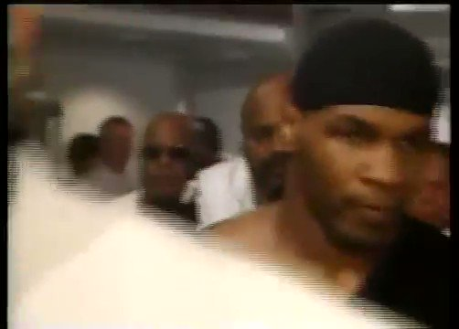 """""""Tyson entering to some scary, imposing music ..."""""""
