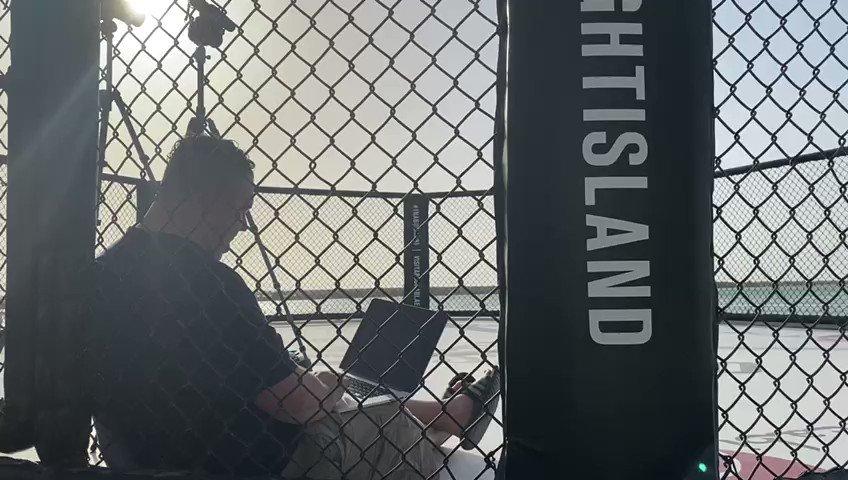 @MMAjunkieJohn Unlike before ???? #UFCFightIsland3