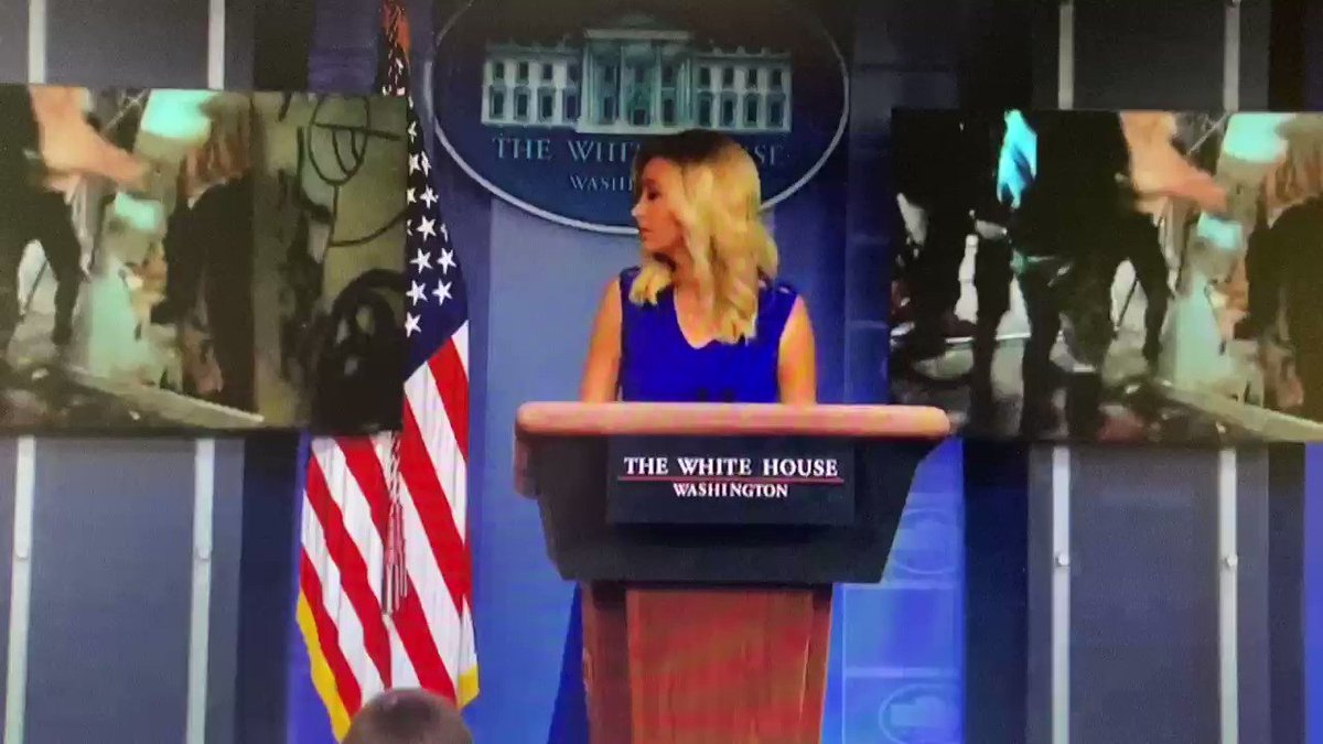 This is a White House press briefing.