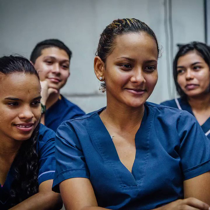 As we work to #BackTheFrontline during the pandemic and beyond, we must expand access to health worker training & education. When the health workforce is well-resourced, well-funded and well-staffed, we will see better #healthforall. Learn more: