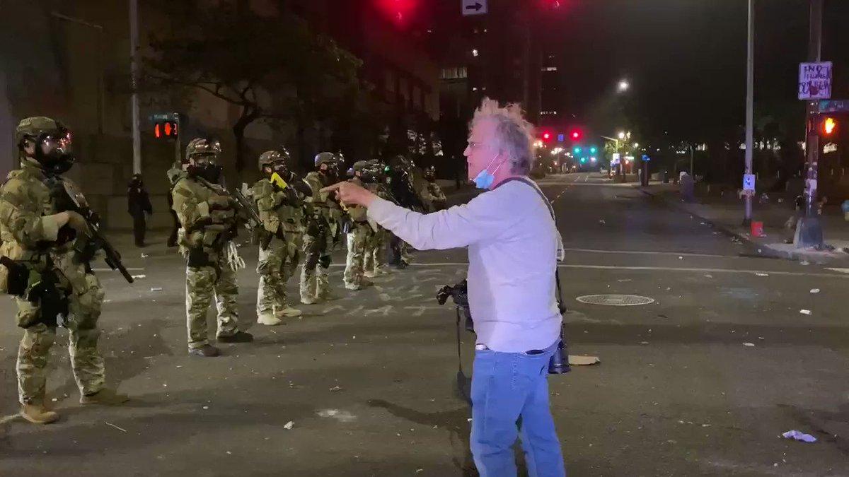 Cowards #PortlandProtests