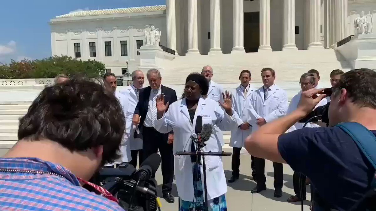 I'm so proud of Dr Stella Immanuel, a proper Nigerian woman.  Her passion and confidence speaks volume,  & when President Trump said hydroxychloroquine, zinc and Zithromax works, the Media, WHO wanted to kill him. I hope Dr Fauci has seen this clip