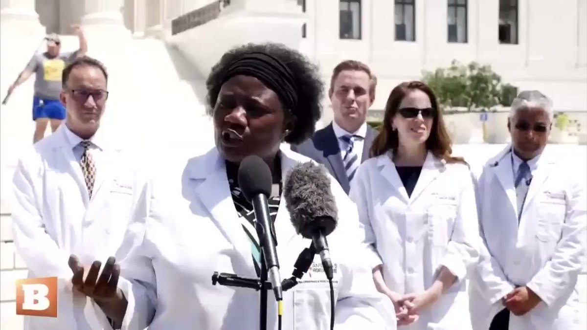 """Frontline Docs back for 2nd Press conference!  """"America you don't need to be afraid. COVID has a cure. COVID has prevention""""  """"If they put everybody on HCQ right now, for those with early disease... those who want to get prevention... we will stop COVID in its tracks in 30 days"""""""