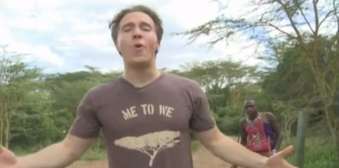 Craig #KielBros big pimpin' on MTV showing off his deluxe crib in the middle of poorest Africa.  Obnoxious and distasteful rating:💯  Full video: