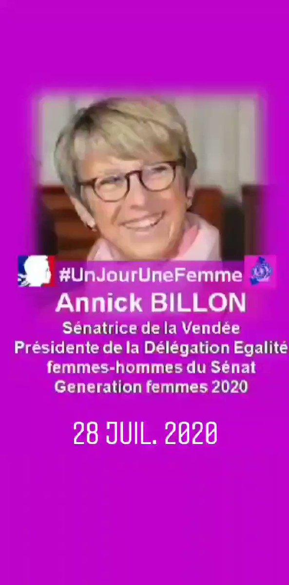 RT @GenerationFemm1: #UnJourUneFemme @AnnickBillon @odelphine @CentreHubertine @najatvb