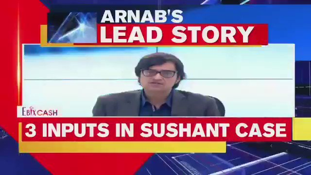 Thanks You Arnab Goswami.. For taking my point (Could be a coincidence)  #DishaSalian mysterious death (Could be murder) linked with #SushantSinghRajpoot murder (Basis on available evidence).  @republic keep investigating, there is more to this case. &👇 #ShameOnMumbaiPolice