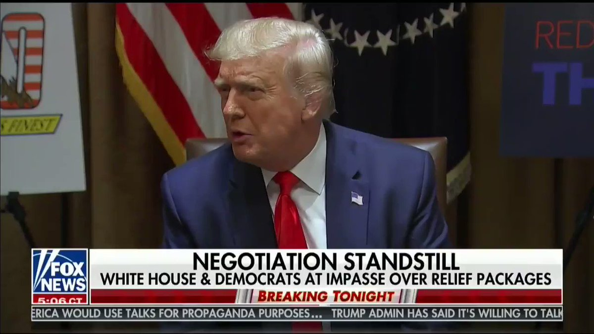 """👇👇👇  """"The Democrats are playing for November 3rd. And we're playing for the good of the people.""""  - President @realDonaldTrump"""