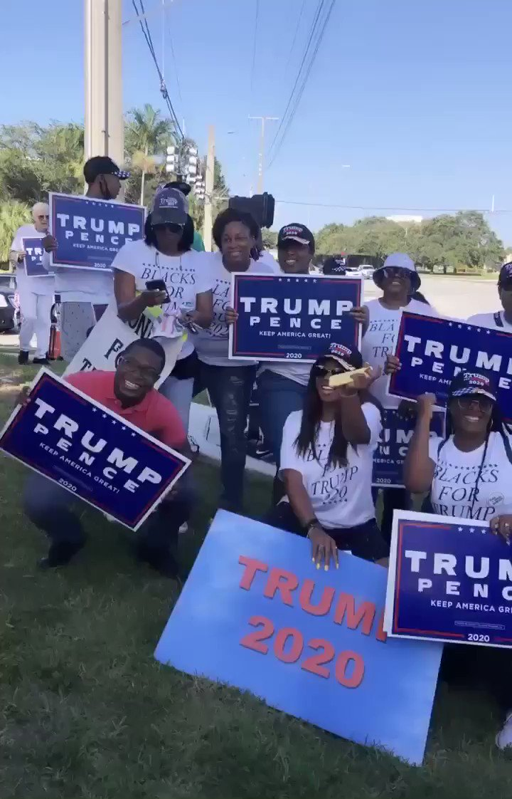 I thought black people didn't like Trump but I keep seeing more Black people speaking out!!🤔🤗🤭🇺🇸