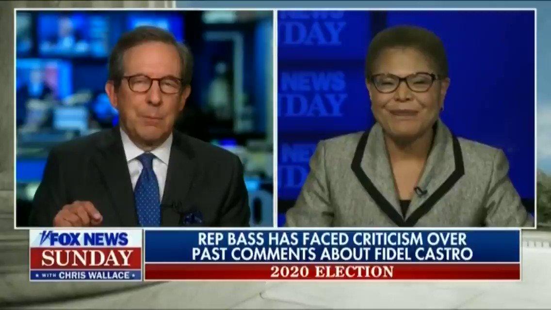 Potential Biden VP pick Democrat Rep. Karen Bass insists she didn't know communism in Cuba was bad just 4 years ago