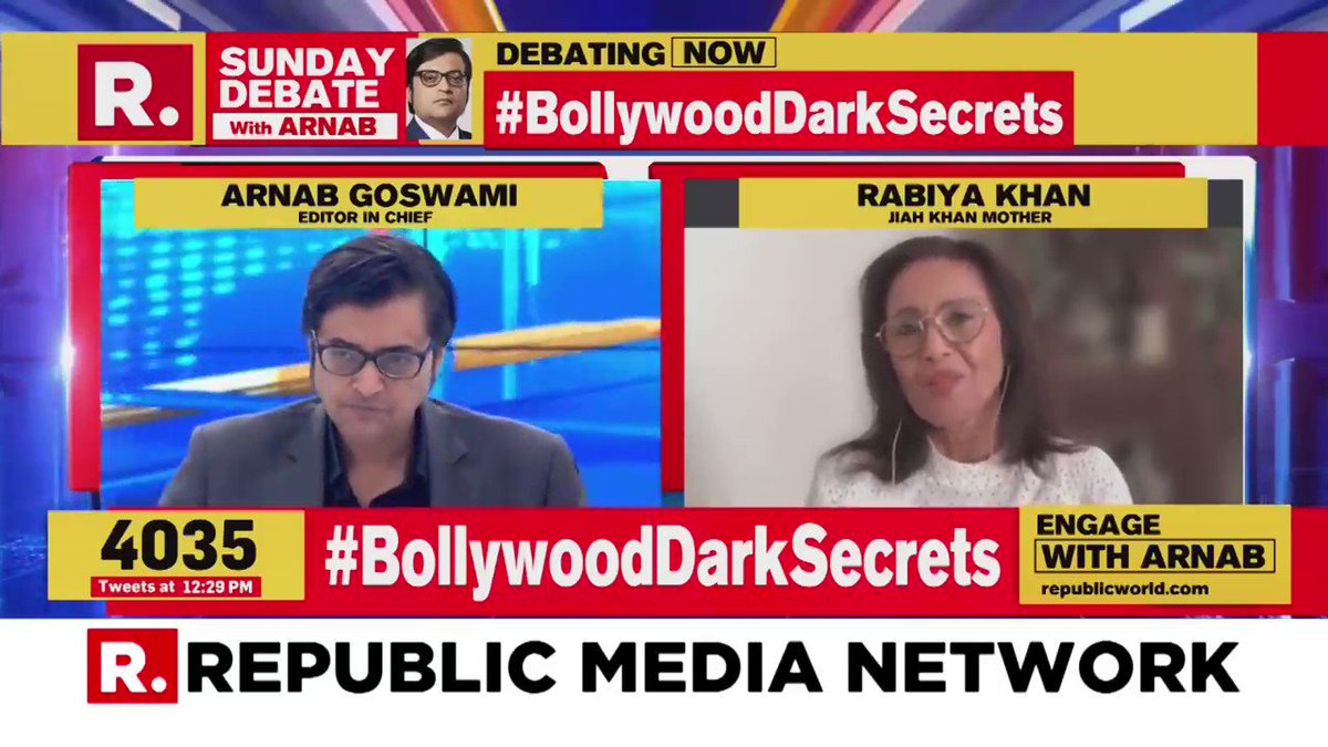 """All Darkness was One darkness in the end, just One Cabal Of Bollywood. Place No Talent requires But""""Who knows Who""""Working hard is such a waste breath, says the Mentor to His protégés. #IndiaScreamsCBI4SSR #SSRwasMurdered #JiahkhanwasMurdered #justice4Both Let's not Forget #DishaS"""