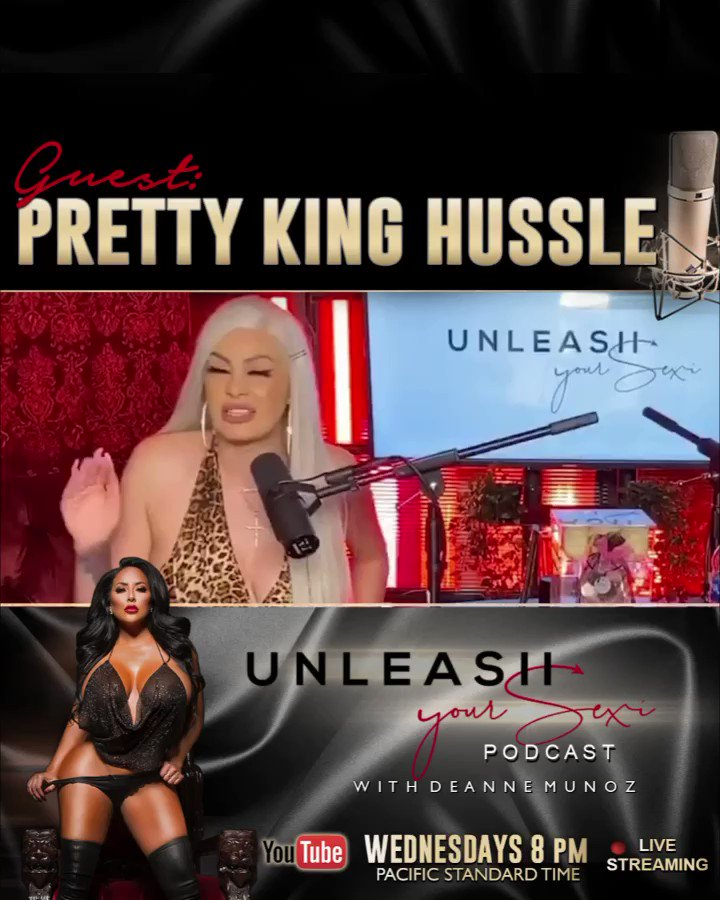 """🎙New podcast 🎙""""SOCIAL MEDIA & RELATIONSHIPS """" DONT MISS IT! Special guest @pretty_king_hussle❤️ watch now  ! —>"""