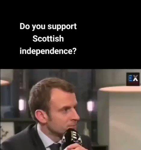 #indyref2 #brexit #EmmanuelMacron