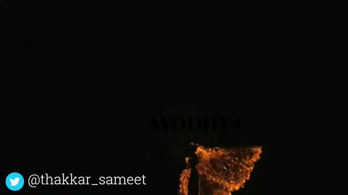 Brilliant video by @thakkar_sameet  #JaiShriRam🚩  #जयश्रीराम 🚩