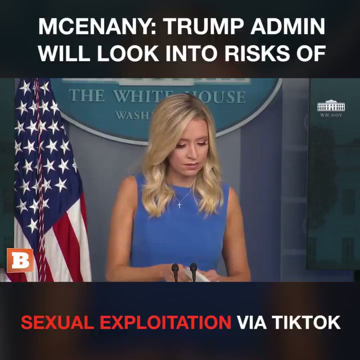 So..TikToc supports human trafficking and exploitation of minors??  Don't you just love the way @kayleighmcenany collaborates with @ChanelRion to expose all the #CrimesAgainstHumanity ??  #SaveTheChildren